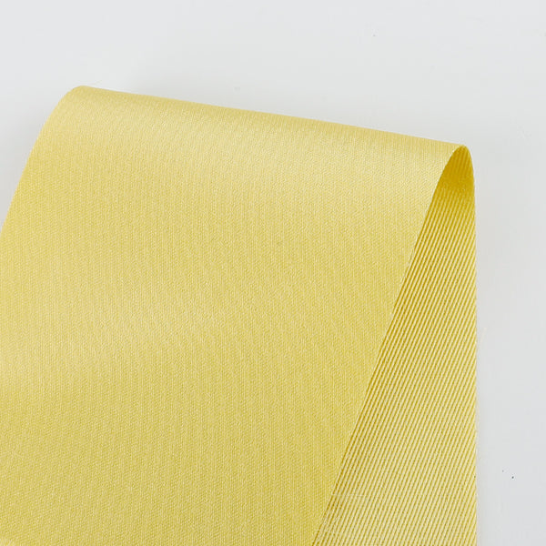 Double Faced Satin Twill - Lemon