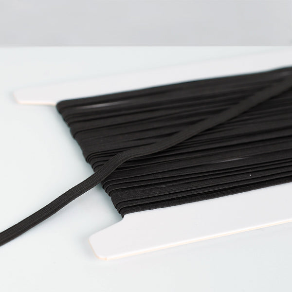 Related product : Braided Elastic 6mm - Black