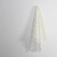 Floral Fronds Embroidered Organza - White - buy online at The Fabric Store