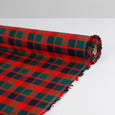 Festive Brushed Cotton Check - Red