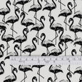 Flamingo Rayon Challis - Black