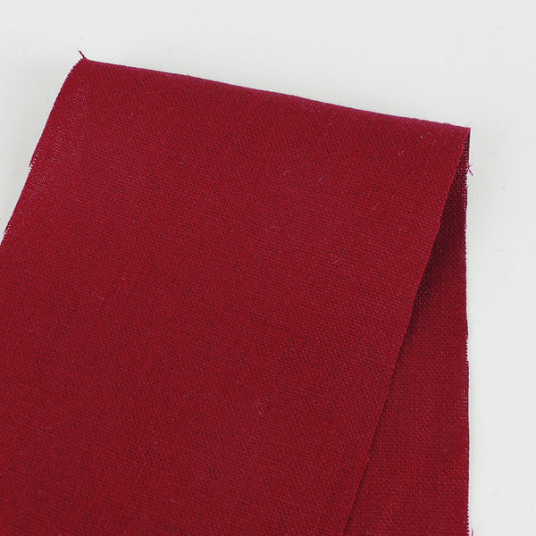 Heavyweight Linen - Marsala - buy online at The Fabric Store