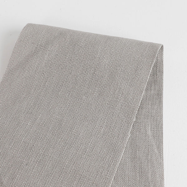 Heavyweight Linen - Silver