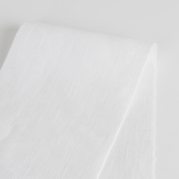 Heavyweight Linen - White - buy online at The Fabric Store Online
