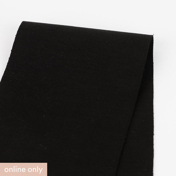 Heavyweight Stretch Suiting - Black