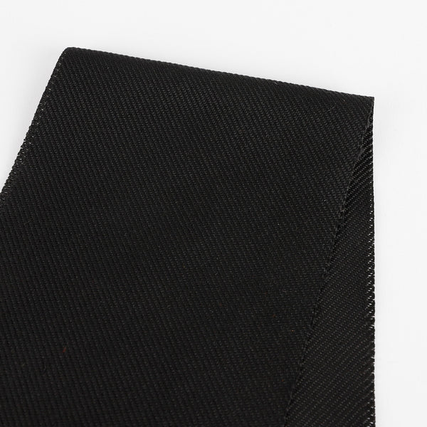 Japanese Heavyweight Twill Suiting - Black