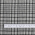 Japanese Glen Check Wool - Grey