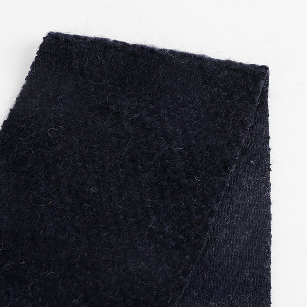 Japanese Honeycomb Wool Knit - Navy