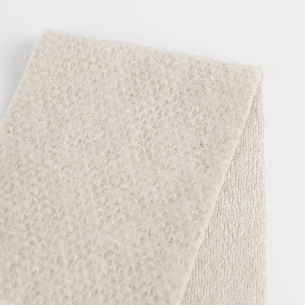 Japanese Honeycomb Wool Knit - Soy