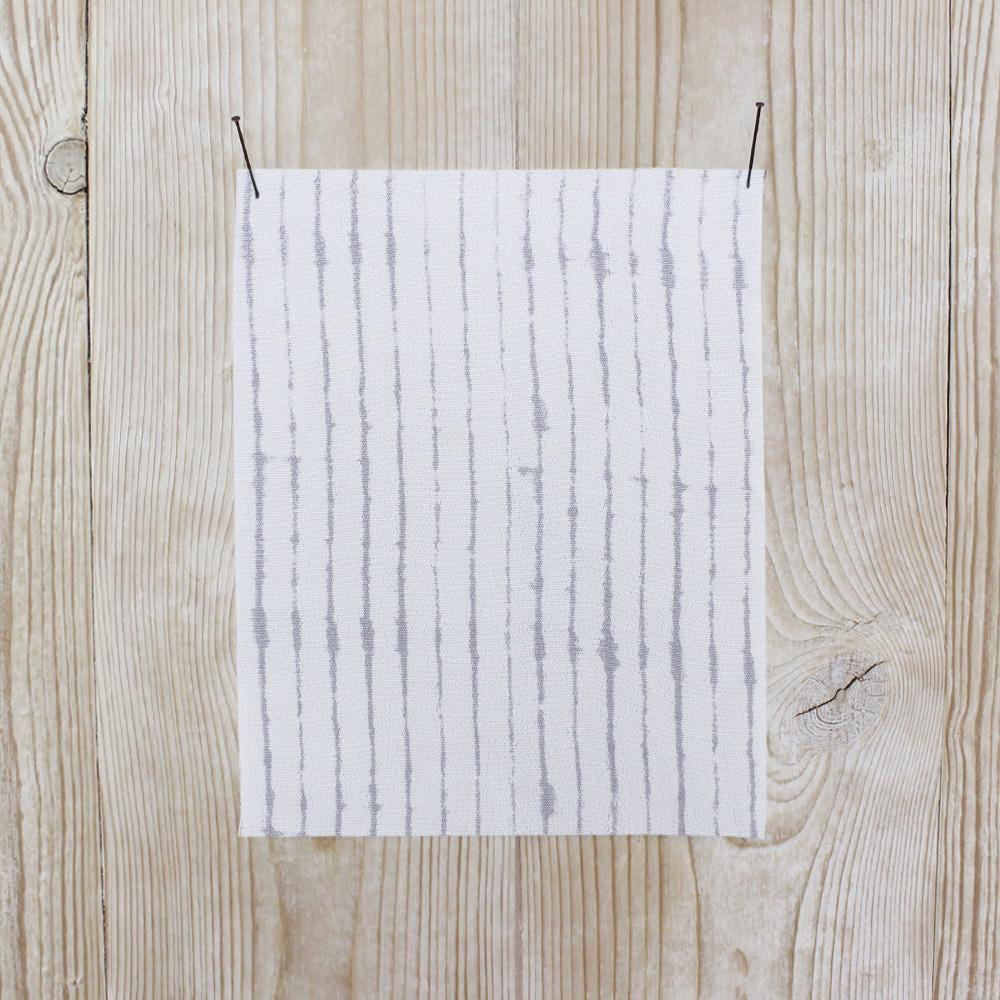 Ink Stripe Rayon Crepe - Grey - buy online at The Fabric Store