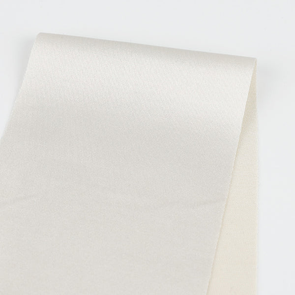 Japanese Sateen Suiting - Dark White