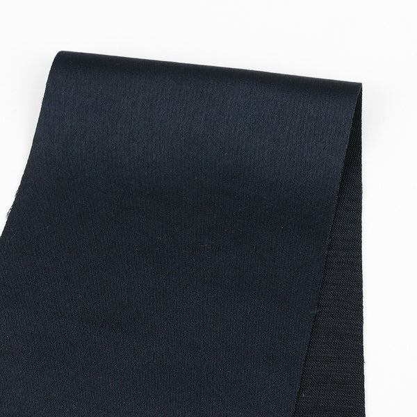 Japanese Sateen Suiting - Navy