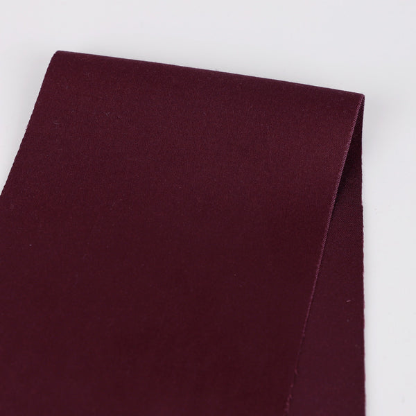 Related product : Japanese Stretch Peached Cotton / Modal - Burgundy