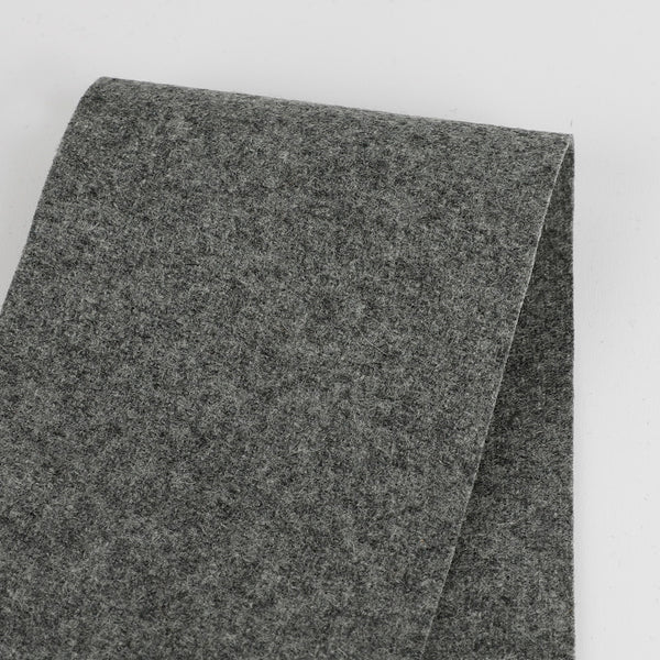 Japanese Wool Blend Melton - Cobblestone