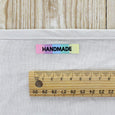 KATM Woven Labels - Rainbow Handmade - buy online at The Fabric Store