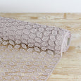 Leaf Guipure Lace - Rose Pearl - buy online at the Fabric Store