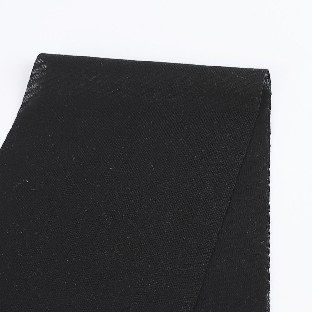 Lightweight Viscose Jersey - Black - Buy Online at The Fabric Store