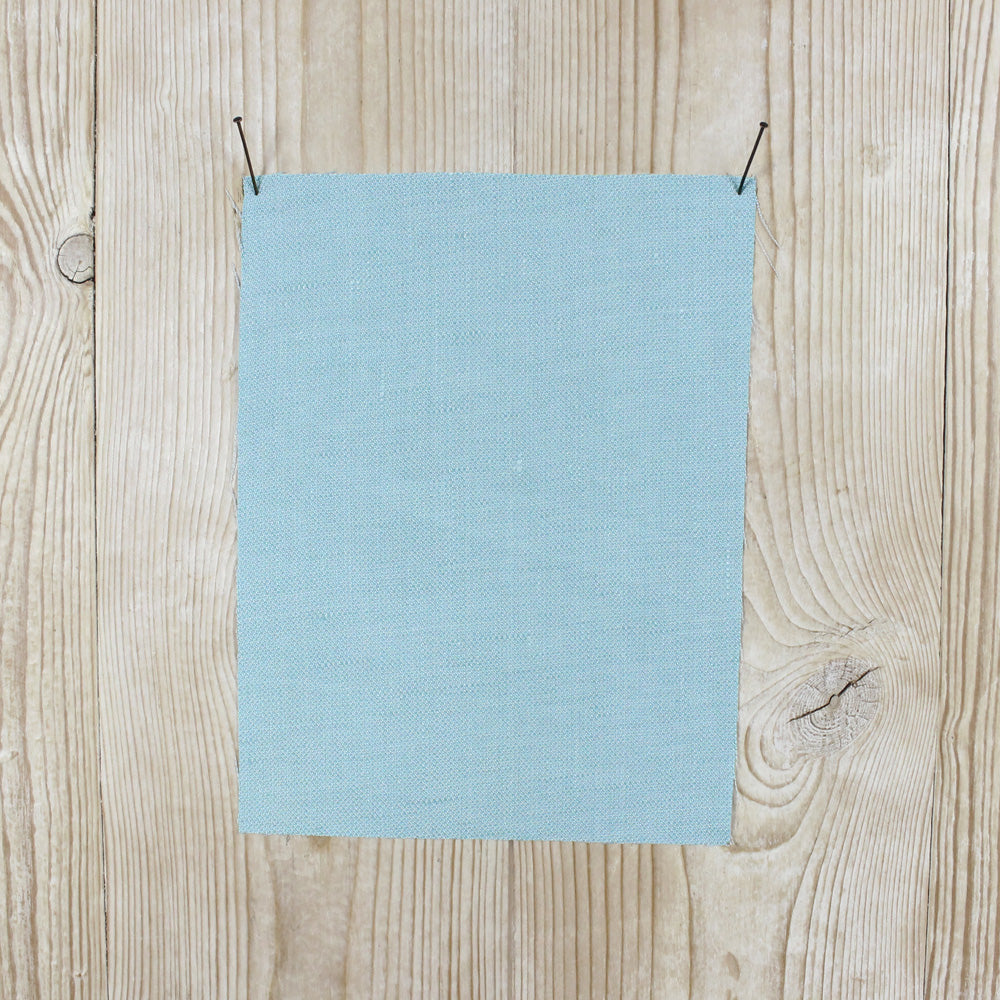 Linen / Viscose Twill - Powder Blue - buy online at The Fabric Store
