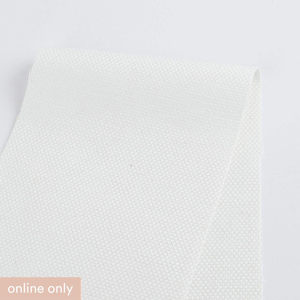Linen / Cotton Canvas - White - Buy online at The Fabric Store