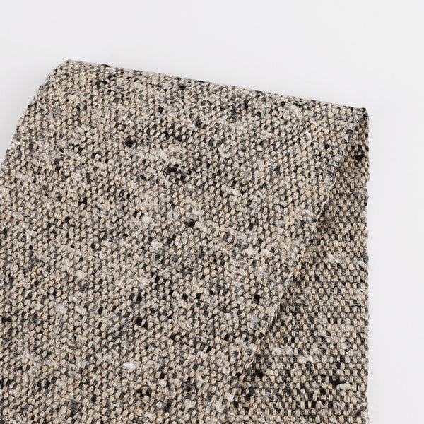 Heavyweight Linen Blend Tweed - Granola