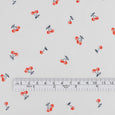 Little Cherries Cotton / Silk Voile - Red