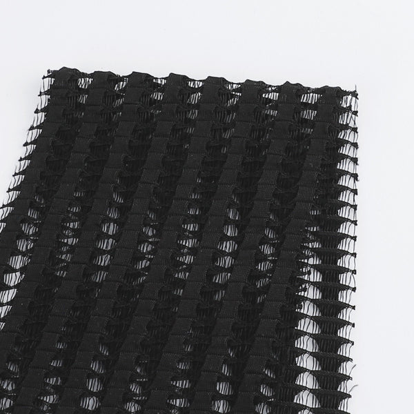Loop Mesh - Black - buy online at The Fabric Store