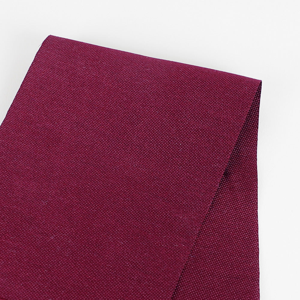 Poly / Silk Suiting - Maroon