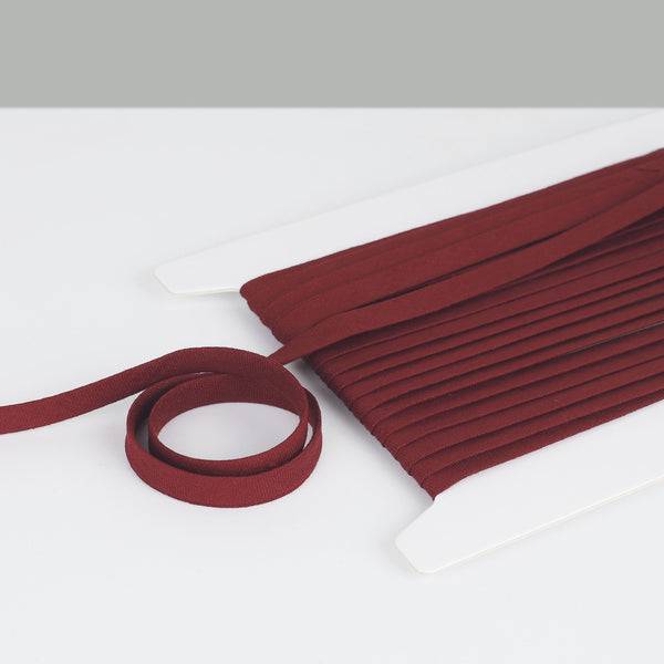 Vintage Finish Linen Bias Binding - Marsala