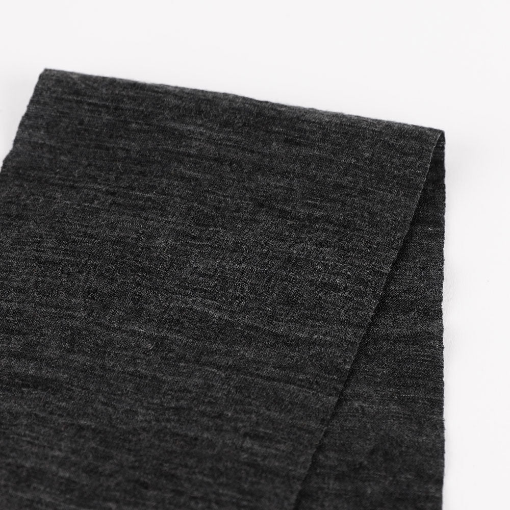 Lightweight Merino Jersey - Black Heather