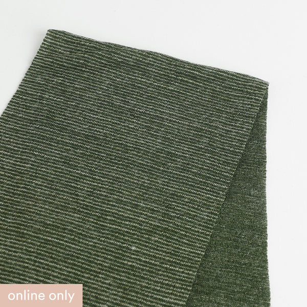 Related product : Needle Stripe Merino Blend Jersey - Fern