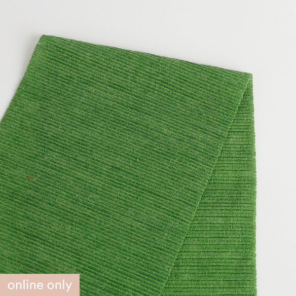 Related product : Needle Stripe Merino Blend Jersey - Leaf