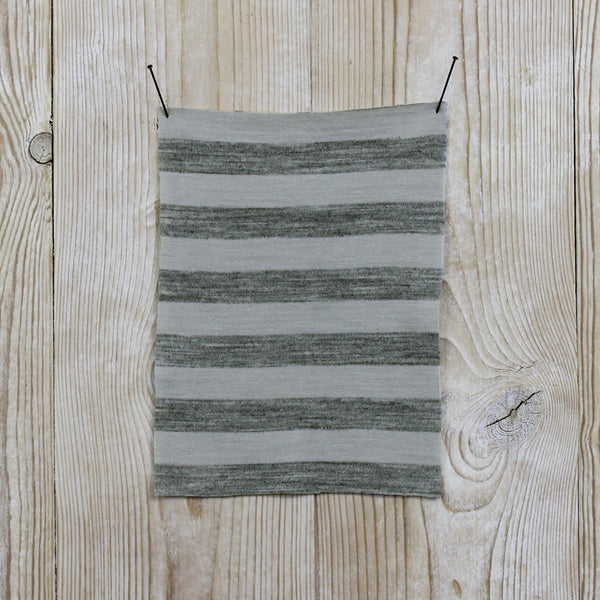 Merino - Grey Marle Stripe