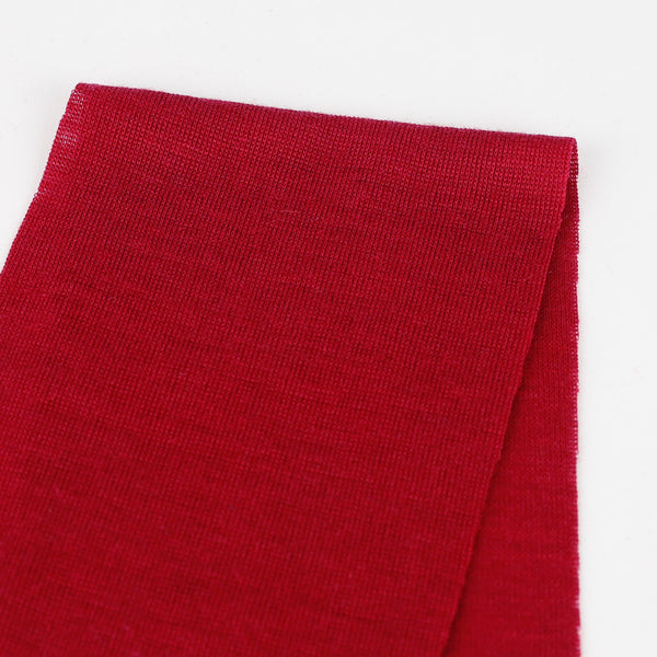 Related product : Merino / Modal 1x1 Rib Tube - Cardinal Red