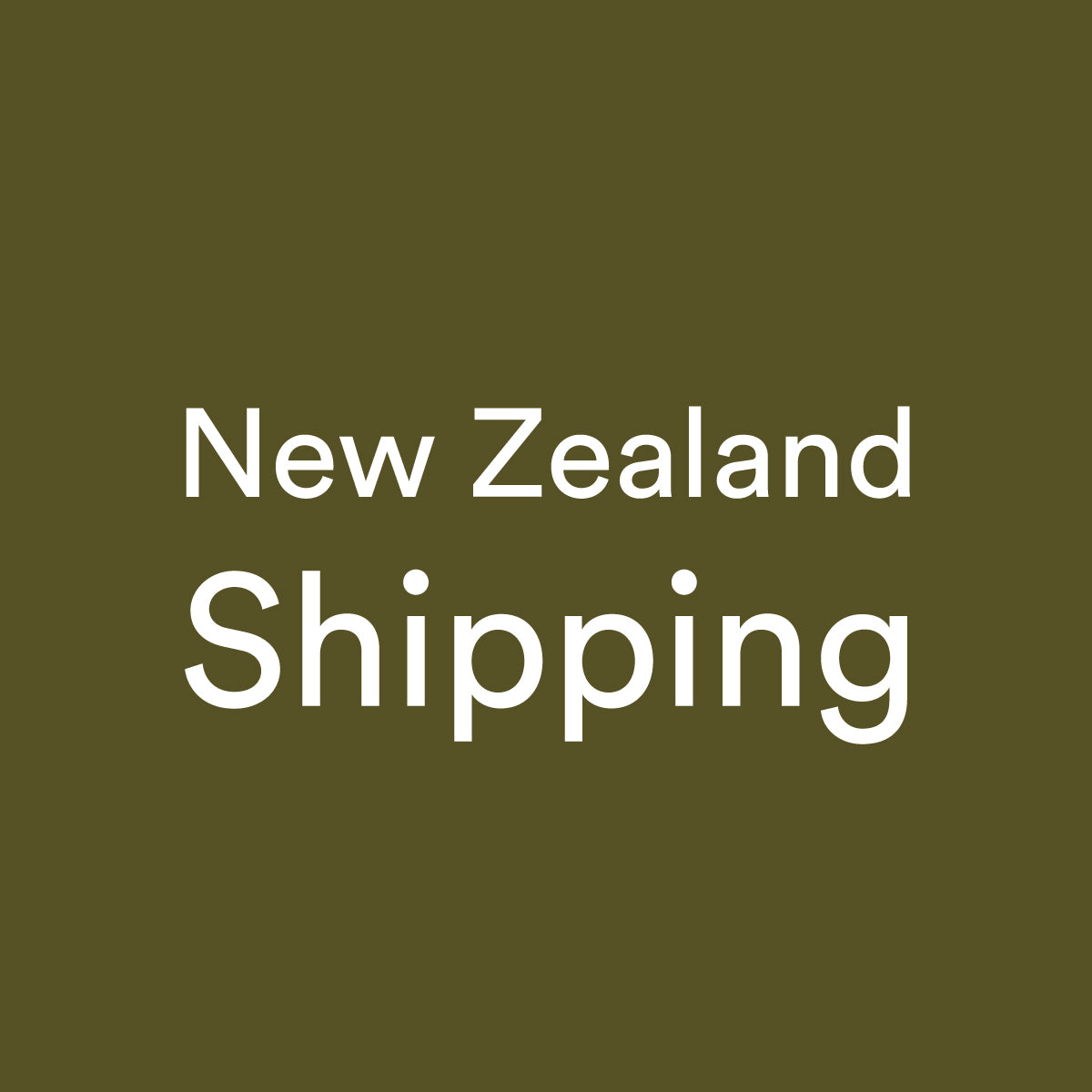 New Zealand Shipping - Add On