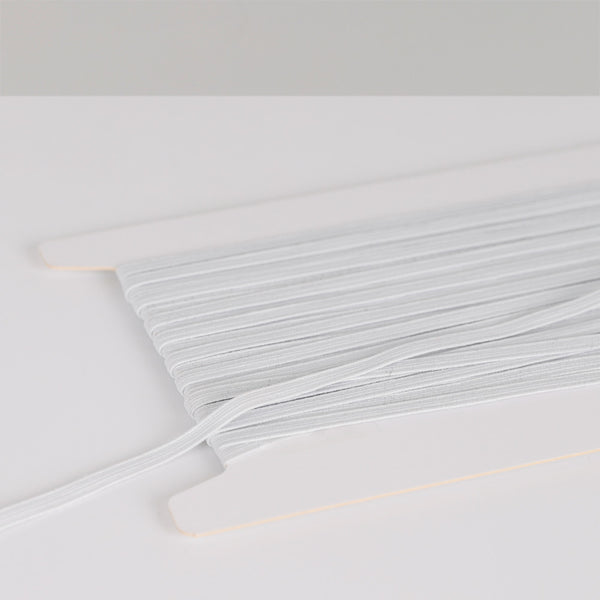 Related product : NZ Braided Elastic 6mm - White