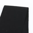 Heavyweight Stretch Cotton Twill - Black