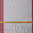 Panel Stripe Cotton Twill