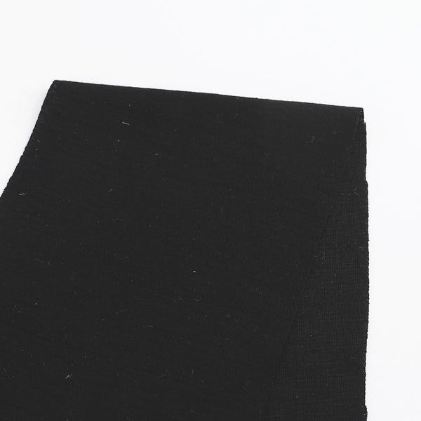Pinched Merino Jersey - Black - buy online at The Fabric Store
