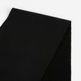 Merino / Lycra Sweatshirting - Black