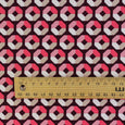 Quartered Octagon Print Stretch Cotton - Pink - buy online at The Fabric Store