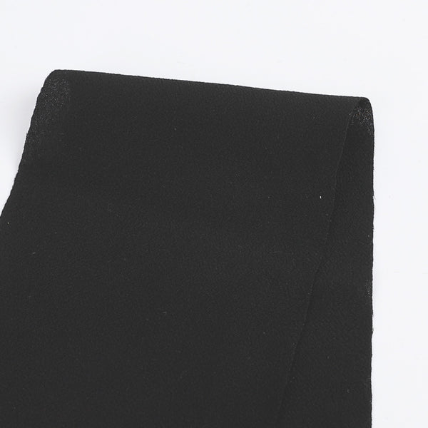Rayon Crepe - Black - Buy online at The Fabric Store