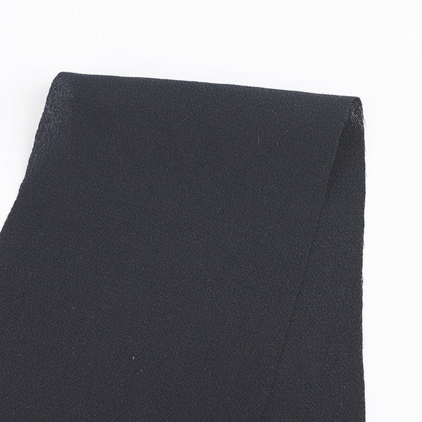 Rayon Crepe - Navy - Buy online at The Fabric Store
