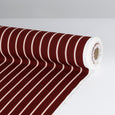 Shadow Stripe Crepe - Maroon