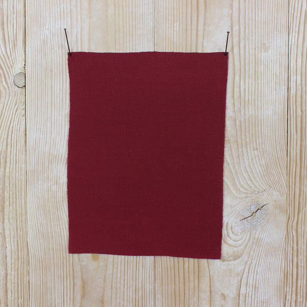 Rayon Crepe - Marsala - buy online at The Fabric Store