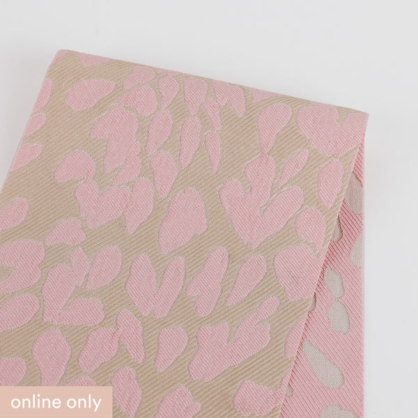 Reversible Animal Print Jacquard - Pink