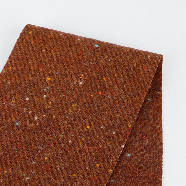 Japanese Twill Wool Coating - Sienna Flec