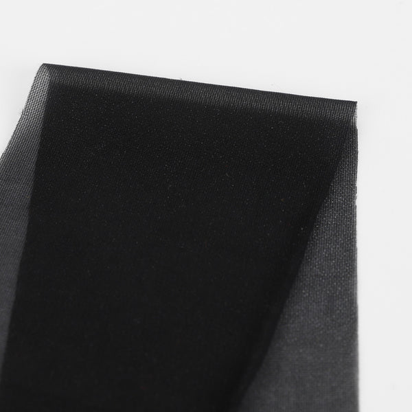 Fusible Interfacing - Stretch Weft / Black