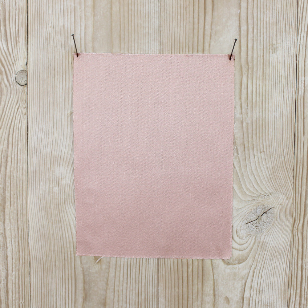 Double Faced Satin Twill - Blush - buy online at The Fabric Store