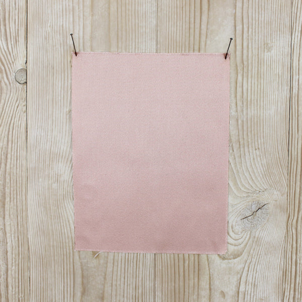 Double Faced Satin Twill - Blush