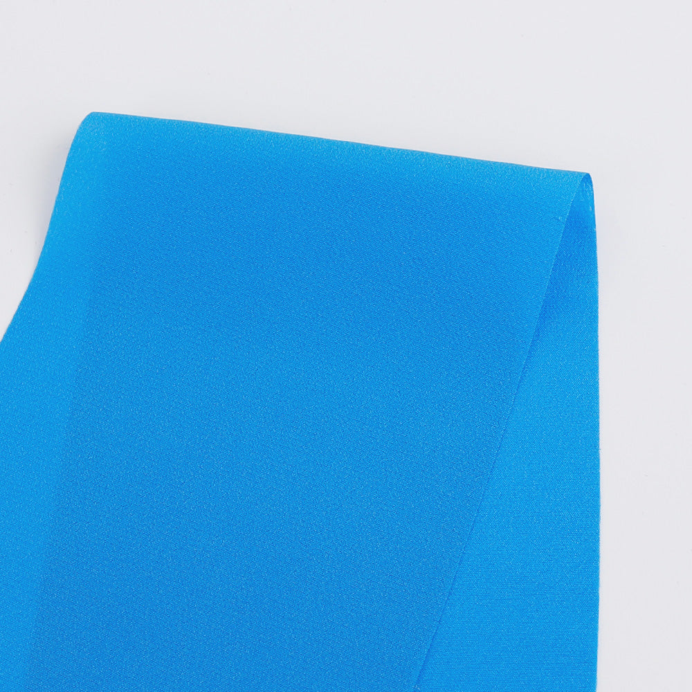 Silk Crepe De Chine - Azure - buy online at The Fabric Store
